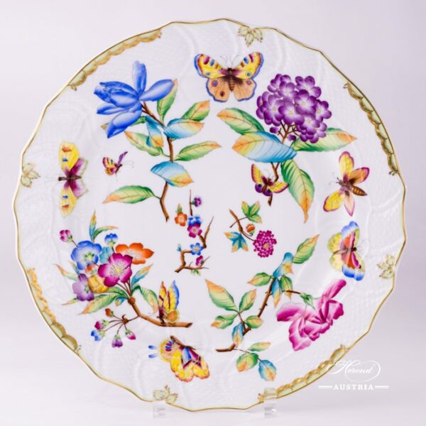 Big Serving Plate 1152-0-00 VICTORIA Old Queen VICTORIA design. Herend fine china tableware