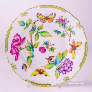 Victoria 1501-0-00 VICTORIA Soup Plate Herend porcelain