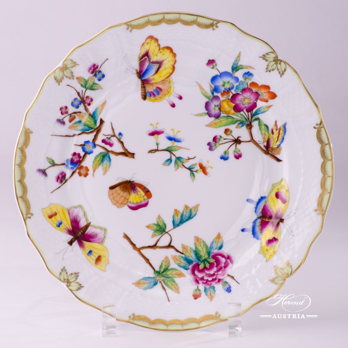 Dessert Plate 1520-0-00 VICTORIA Old Queen VICTORIA design. Herend fine china tableware
