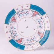 Tupini 1524-0-00 TCA Dinner Plate Herend porcelain