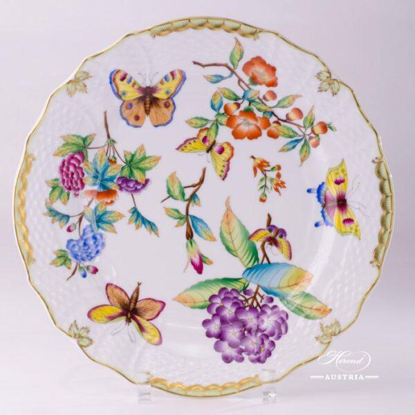 Serving Plate 1527-0-00 VICTORIA Old Queen VICTORIA design. Herend fine china tableware