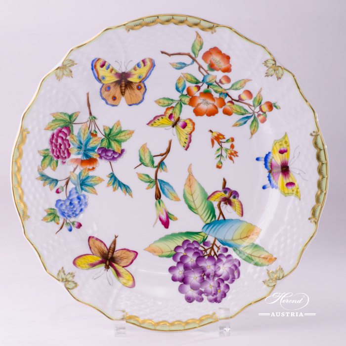 Serving Plate 1527-0-00 VICTORIA Old Queen VICTORIA design. Herend fine china tableware