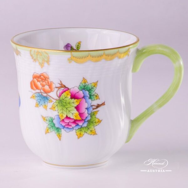 Universal Cup/Milk Mug 1729-0-00 VBO Queen Victoria design. Herend porcelain hand painted. Tableware