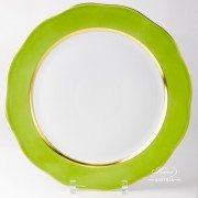 Green Serving Plate 20156-0-00 CV3 Serving Plate Herend porcelain