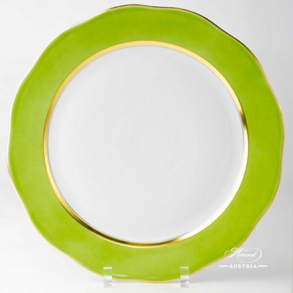 Green Serving Plate 20156-0-00 CV3 Serving Plate Herend porcelain