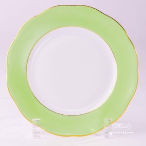 Light Green Dessert Plate 20517-0-00 CV1S Dessert Plate Herend porcelain