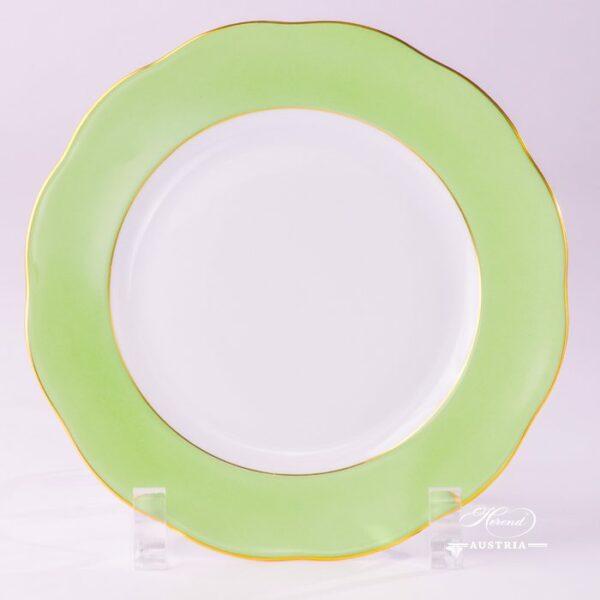 Light Green Dessert Plate 20517-0-00 CV1S Dessert Plate Herend porcelain