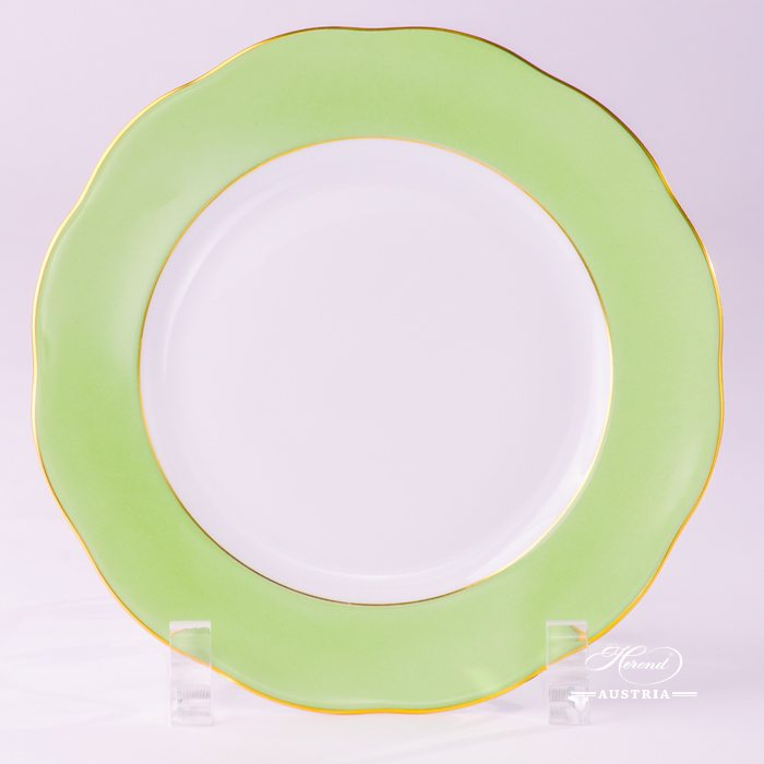 Green Dessert Plate - 20517-0-00 CV1S - Herend Porcelain