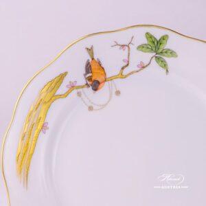 Dream Garden 20517-0-00 REJA Dessert Plate Herend porcelain