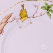 Dream Garden 20517-0-00 REJAR Dessert Plate Herend porcelain