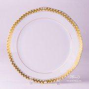 Laurel Garland 20524-0-00 OFLGPR Dinner Plate Herend porcelain
