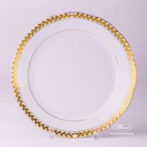 Laurel Garland 20524-0-00 OFLGPR Dinner Plate Herend porcelain