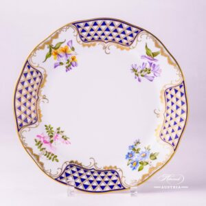 Mosaic and Flowers 20524-0-00 MTFC Dinner Plate Herend porcelain