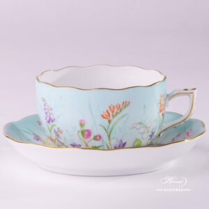Four Seasons 20724-0-00 QS Tea Cup and Saucer Herend porcelain