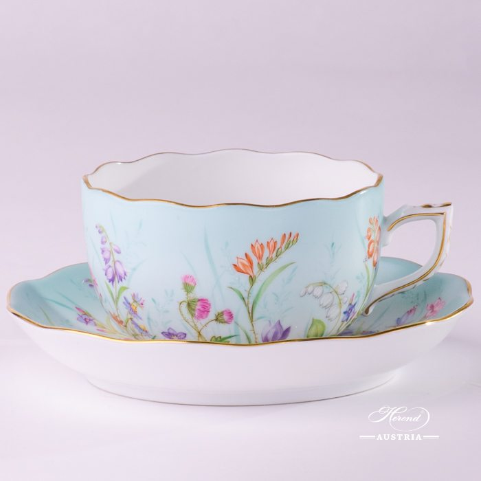 Four Seasons - Tea Cup - 20724-0-00 QS - Herend Porcelain