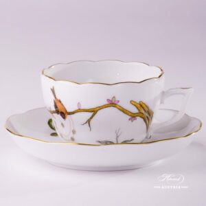Dream Garden 20730-0-00 REJA Tea Cup and Saucer Herend porcelain