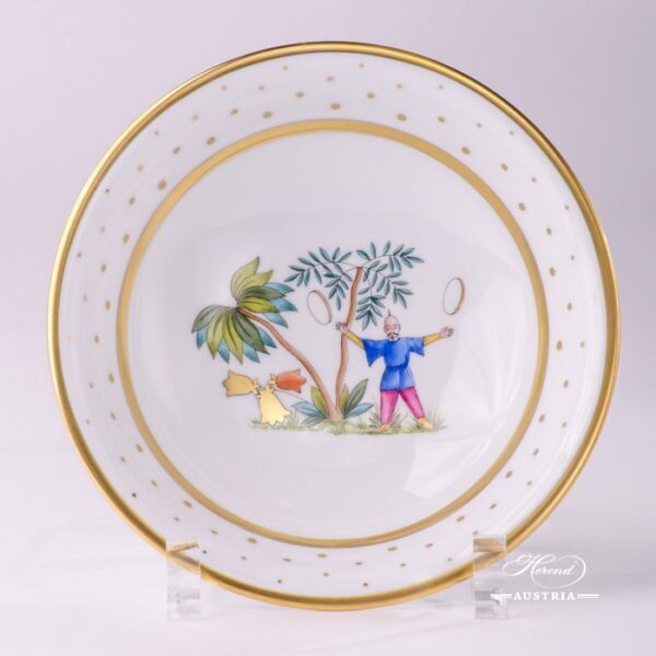 Oriental Showmen 2334-0-00 FODOS Bowl Herend porcelain