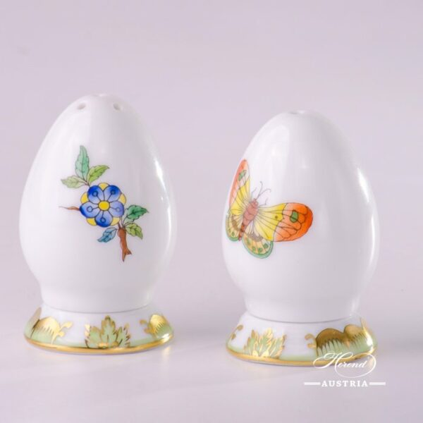 Salt and Pepper Shaker Set Victoria VBA Decor Herend porcelain