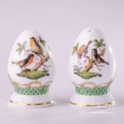 Salt and Pepper Shaker Set Couple of Birds RO-ETV Rothschild Decor Herend porcelain