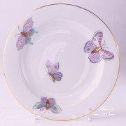 Royal Garden 2521-0-00 EVICTP2 Dessert Plate Herend porcelain