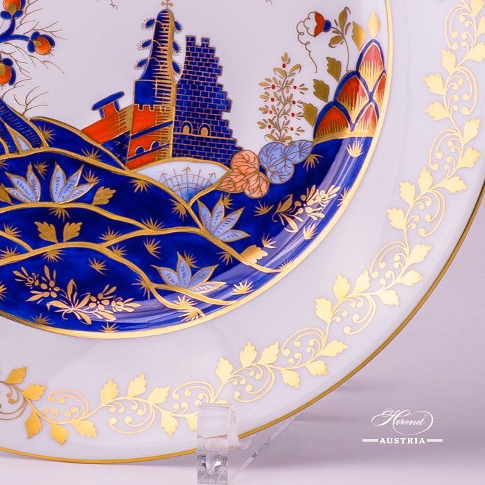 Miramare Dinner Plate - 2524-0-00 MR - Herend Porcelain