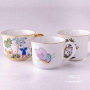 Royal Garden 2708-0-00 EVICTP2 Mug Herend porcelain