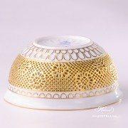 3232-0-00 SP1050 Herend Pierced Porcelain bowl