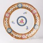 Silk Brocade 3586-0-00 EGAVT Dessert Plate Herend porcelain