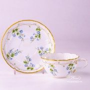 Morning Glory - Nyon 4247-0-00 NY Tea Cup and Saucer Herend porcelain