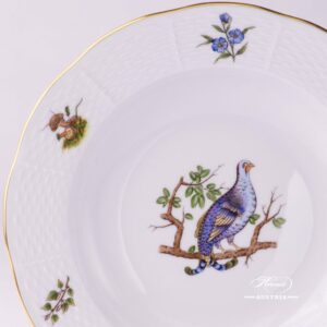 Hunter Trophies 504-0-00 CHTM Soup Plate Herend porcelain