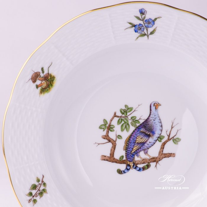 Hunter Trophies Soup Plate - 504-0-00 CHTM - Herend Porcelain