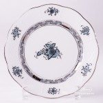 Apponyi Turquoise 517-0-00 ATQ3-PT Dessert Plate Herend porcelain