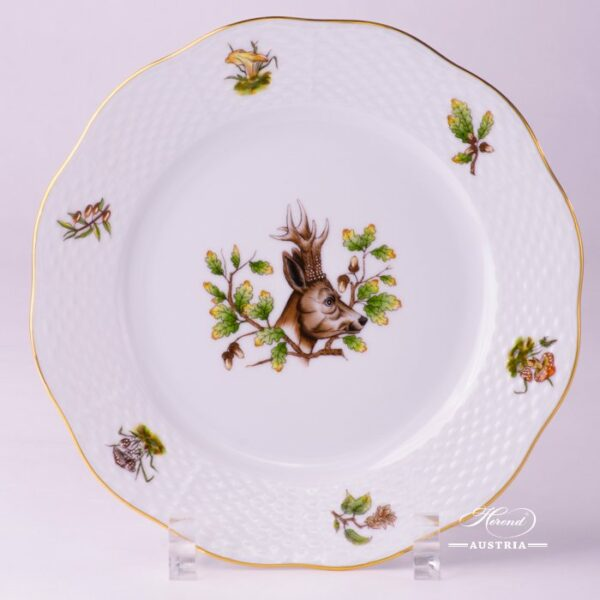 Hunter Trophies 517-0-00 CHTM Dessert Plate Herend porcelain
