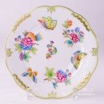 Dessert Plate 517-0-00 VBO Queen Victoria design. Herend fine china hand painted