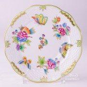 Victoria 517-0-00 VBO Dessert Plate Herend porcelain