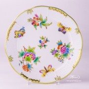 Victoria 524-0-00 VBO Dinner Plate Herend porcelain