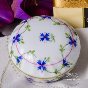 Cornflower Garland - Bonbonniere / Candy Jar