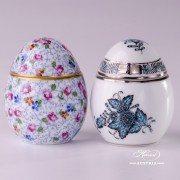6043-0-00 ATQ3-PT Herend Porcelain Egg