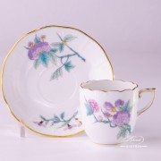 Royal Garden 709-0-00 EVICTF2 Coffee Cup and Saucer Herend porcelain