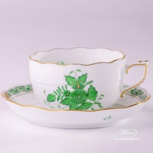 Apponyi 724-0-00 AV Tea Cup and Saucer Herend porcelain
