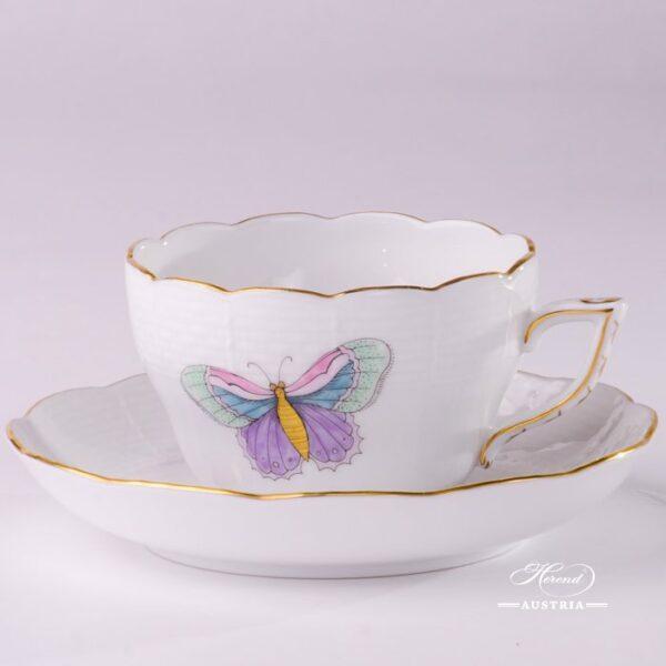 Royal Garden 730-0-00 EVICTP2 Tea Cup and Saucer Herend porcelain