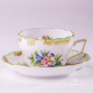 Victoria 730-0-00 VBO Tea Cup and Saucer Herend porcelain