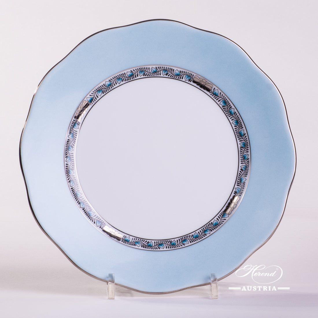 Apponyi Turquoise Dessert Plate - 20517-0-00 E-511 - Herend Porcelain