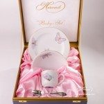 Baby Set for Girl-Royal Garden EVICTP2-Herend porcelain