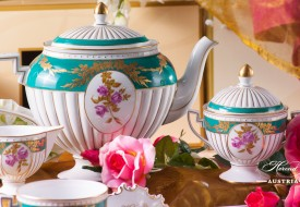 Belvedere-BEL Tea Set - Herend Porcelain