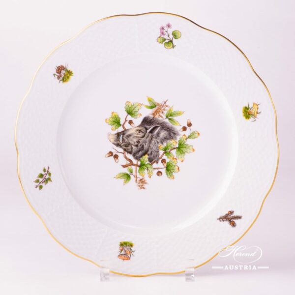 Hunter Trophies 527-0-00 CHTM Serving Plate Herend porcelain