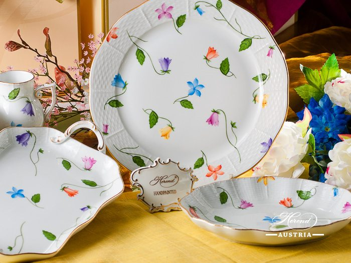 Bluebell – Campanulle Colore Herend Porcelain – (CMUC)