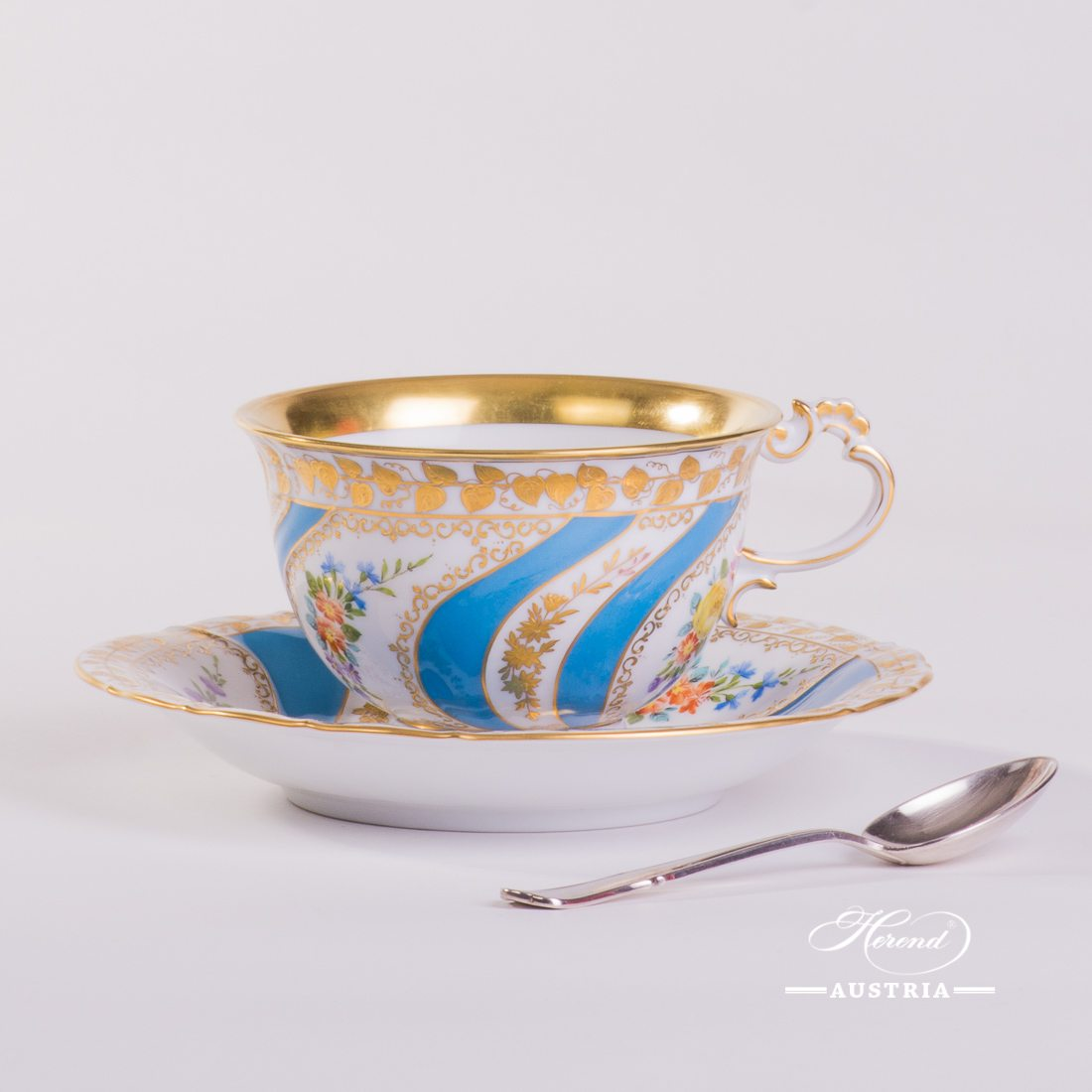 Colette Tea Cup and Saucer - 3693-0-00 Colette - Herend Porcelain