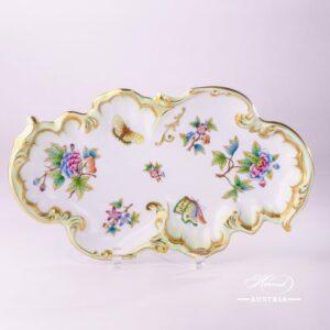 Victoria 7517-0-00 VBO Rococo Dish Herend porcelain