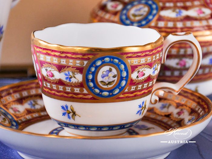 Silk Brocade – Eglantine Herend Porcelain sets – (EGAVT)